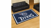 Fan Mats 6612  NFL - Tennessee Titans 5' x 8' Area Rug