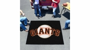Fan Mats 6622  MLB - San Francisco Giants 5' x 6' Tailgater Mat / Area Rug
