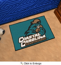 "Fan Mats 6759  Coastal Carolina Chanticleers 19"" x 30"" Starter Mat"
