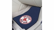 "Fan Mats 6793  MLB - Boston Red Sox 17"" x 27"" Carpeted Car Mat Set"