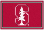 Fan Mats 6800  Stanford University Cardinal 5' x 8' Area Rug