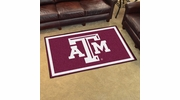 Fan Mats 6821  Texas A&M University Aggies 4' x 6' Area Rug