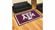 Fan Mats 6822  Texas A&M University Aggies 5' x 8' Area Rug