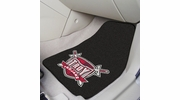 "Fan Mats 6833  Troy University Trojans 17"" x 27"" Carpeted Car Mat Set"