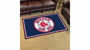 Fan Mats 6963  MLB - Boston Red Sox 4' x 6' Area Rug