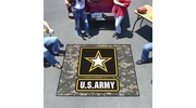 Fan Mats 6972  US Army 5' x 6' Tailgater Mat / Area Rug