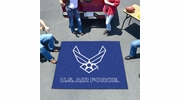 Fan Mats 6977  USAF - US Air Force 5' x 6' Tailgater Mat / Area Rug