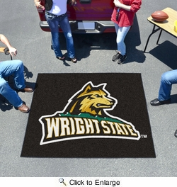 Fan Mats 704  Wright State University Raiders 5' x 6' Tailgater Mat / Area Rug