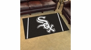 Fan Mats 7053  MLB - Chicago White Sox 4' x 6' Area Rug