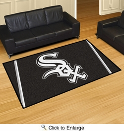 Fan Mats 7054  MLB - Chicago White Sox 5' x 8' Area Rug