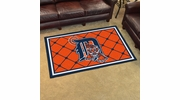 Fan Mats 7057  MLB - Detroit Tigers 4' x 6' Area Rug