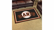 Fan Mats 7081  MLB - San Francisco Giants 4' x 6' Area Rug