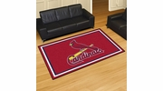Fan Mats 7086  MLB - St Louis Cardinals 5' x 8' Area Rug
