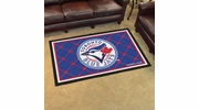 Fan Mats 7091  MLB - Toronto Blue Jays 4' x 6' Area Rug