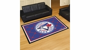 Fan Mats 7092  MLB - Toronto Blue Jays 5' x 8' Area Rug