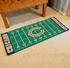 "Fan Mats 7347  NFL - Chicago Bears 30"" x 72"" Football Field-Shaped Runner Rug Mat"
