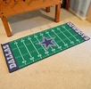 "Fan Mats 7349  NFL - Dallas Cowboys 30"" x 72"" Football Field-Shaped Runner Rug Mat"
