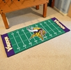 "Fan Mats 7358  NFL - Minnesota Vikings 30"" x 72"" Football Field-Shaped Runner Rug Mat"
