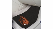 "Fan Mats 7384  OSU - Oregon State University Beavers 17"" x 27"" Carpeted Car Mat Set"