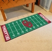 "Fan Mats 7556  OU - University of Oklahoma Sooners 30"" x 72"" Football Field-Shaped Runner Rug"
