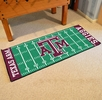 "Fan Mats 7562  Texas A&M University Aggies 30"" x 72"" Football Field-Shaped Runner Rug"