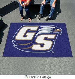 Fan Mats 786  Georgia Southern University Eagles 5' x 8' Ulti-Mat Area Rug / Mat