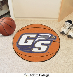 "Fan Mats 788  Georgia Southern University Eagles 27"" Diameter Basketball Shaped Area Rug"
