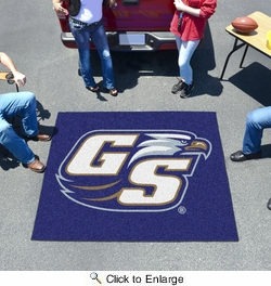 Fan Mats 789  Georgia Southern University Eagles 5' x 6' Tailgater Mat / Area Rug