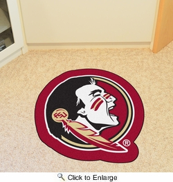 Fan Mats 7909  FSU - Florida State University Seminoles Approx. 3 ft x 4 ft Mascot Area Rug / Mat