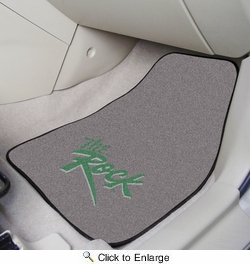 "Fan Mats 7923  SRU - Slippery Rock University The Rock 17"" x 27"" Carpeted Car Mat Set"