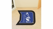 Fan Mats 7925  Duke University Blue Devils Approx. 3 ft x 4 ft Mascot Area Rug / Mat