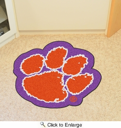 Fan Mats 7926  Clemson University Tigers Approx. 3 ft x 4 ft Mascot Area Rug / Mat