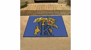 "Fan Mats 795  UK - University of Kentucky Wildcats 33.75"" x 42.5"" All-Star Series Area Rug / Mat"