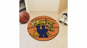 "Fan Mats 797  UK - University of Kentucky Wildcats 27"" Diameter Basketball Shaped Area Rug"