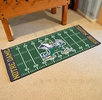 "Fan Mats 8056  ND - University of Notre Dame Fighting Irish 30"" x 72"" Football Field-Shaped Runner Rug"