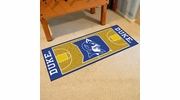 "Fan Mats 8171  Duke University Blue Devils 30"" x 72"" NCAA Basketball Court-Shaped Runner Rug"
