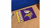 "Fan Mats 8248  NFL - Minnesota Vikings 20"" x 30"" Uniform Inspired Starter Series Area Rug / Mat"