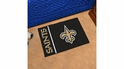 "Fan Mats 8252  NFL - New Orleans Saints 20"" x 30"" Uniform Inspired Starter Series Area Rug / Mat"