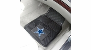 "Fan Mats 8274  NFL - Dallas Cowboys 17"" x 27"" Heavy Duty Vinyl Car Mat Set"