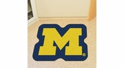 Fan Mats 8325  UM - University of Michigan Wolverines Approx. 3 ft x 4 ft Mascot Area Rug / Mat