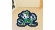Fan Mats 8329  ND - University of Notre Dame Fighting Irish Approx. 3 ft x 4 ft Mascot Area Rug / Mat