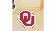 Fan Mats 8331  OU - University of Oklahoma Sooners Approx. 3 ft x 4 ft Mascot Area Rug / Mat