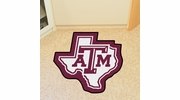Fan Mats 8336  Texas A&M University Aggies Approx. 3 ft x 4 ft Mascot Area Rug / Mat