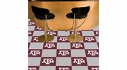 "Fan Mats 8539  Texas A&M University Aggies 18"" x 18"" Team Carpet Tiles (10 Logo, 10 Solid per Box - appx 45 sq ft)"