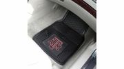 "Fan Mats 8767  Texas A&M University Aggies 17"" x 27"" Heavy Duty Vinyl Car Mat Set"