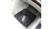 "Fan Mats 8833  MLB - Chicago White Sox 17"" x 27"" Heavy Duty Vinyl Car Mat Set"
