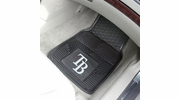 "Fan Mats 8850  MLB - Tampa Bay Rays 17"" x 27"" Heavy Duty Vinyl Car Mat Set"