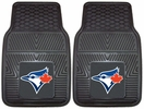 "Fan Mats 8853  MLB - Toronto Blue Jays 17"" x 27"" Heavy Duty Vinyl Car Mat Set"