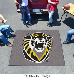 Fan Mats 896  FHSU - Fort Hays State University Tigers 5' x 6' Tailgater Mat / Area Rug