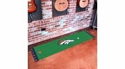 "Fan Mats 9010  NFL - Denver Broncos 18"" x 72"" Putting Green Mat"
